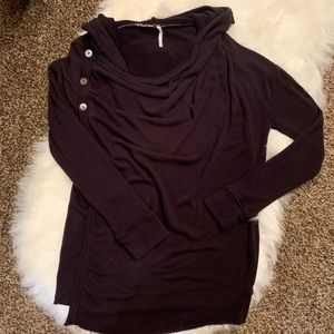 Make an offer❤️ FREE PEOPLE hooded cardigan